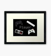 Player Framed Print
