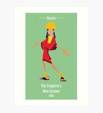 Kuzco Illustration Art Print