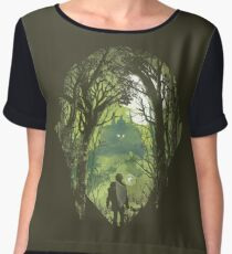 It's dangerous to go alone Chiffon Top