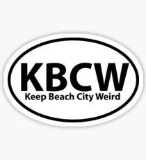 Keep Beach City Weird Sticker