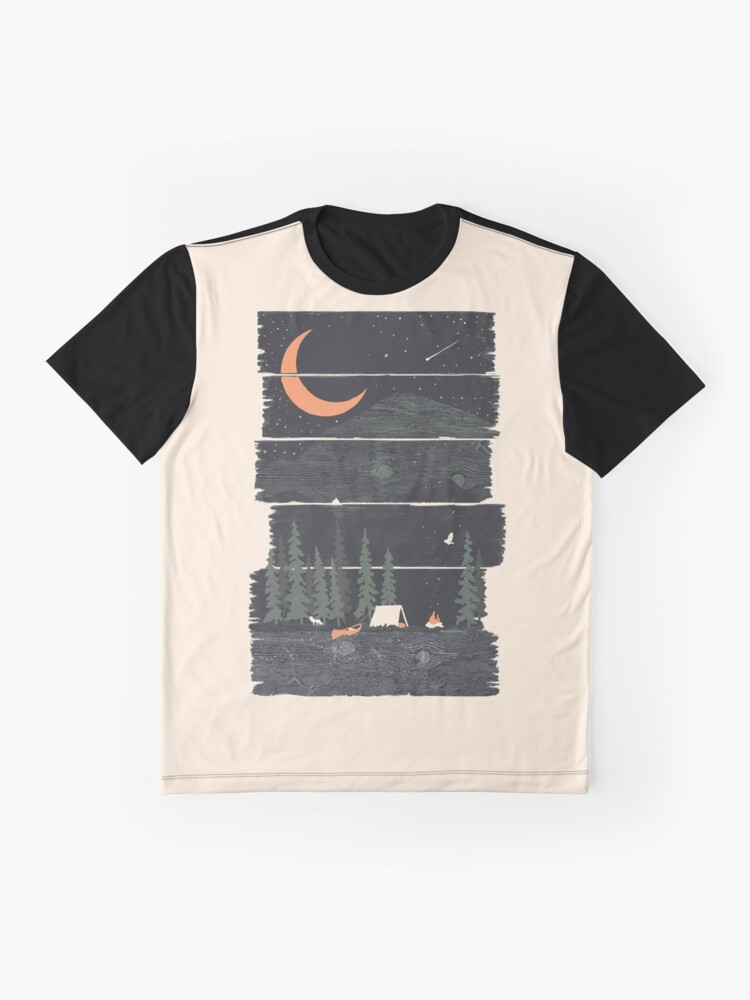 Alternate view of Wish I Was Camping... Graphic T-Shirt