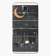 Funda/vinilo para Samsung Galaxy Ojalá estuviera acampando ...