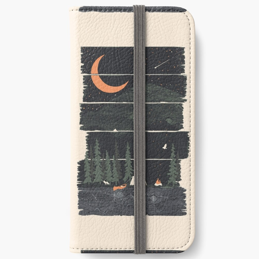 Wish I Was Camping... iPhone Wallet