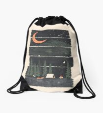Wish I Was Camping... Drawstring Bag