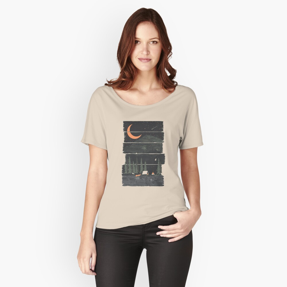 Wish I Was Camping... Relaxed Fit T-Shirt