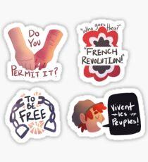 Les Mis Quotes Sticker