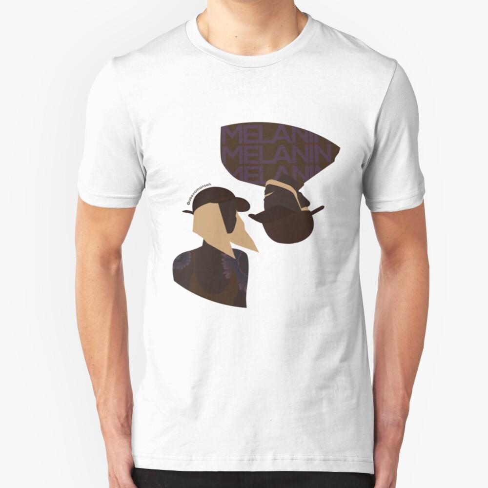 Melanin x2 Slim Fit T-Shirt