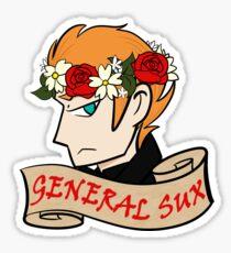 General Sux Sticker