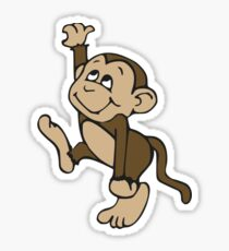 Monkey  Sticker