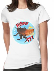 Hissy Fit Womens Fitted T-Shirt