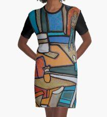 Urban Culture - Take A Seat Graphic T-Shirt Dress