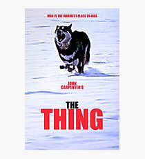 THE THING 3 Photographic Print