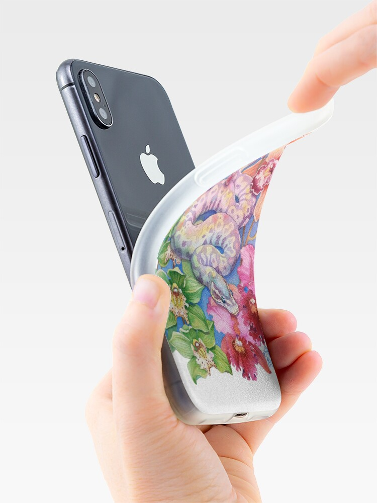 """Alternate view of """"Year of the Snake"""" - Chinese Zodiac Watercolour  iPhone Case & Cover"""