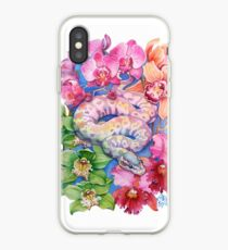 """Year of the Snake"" - Chinese Zodiac Watercolour  iPhone Case"