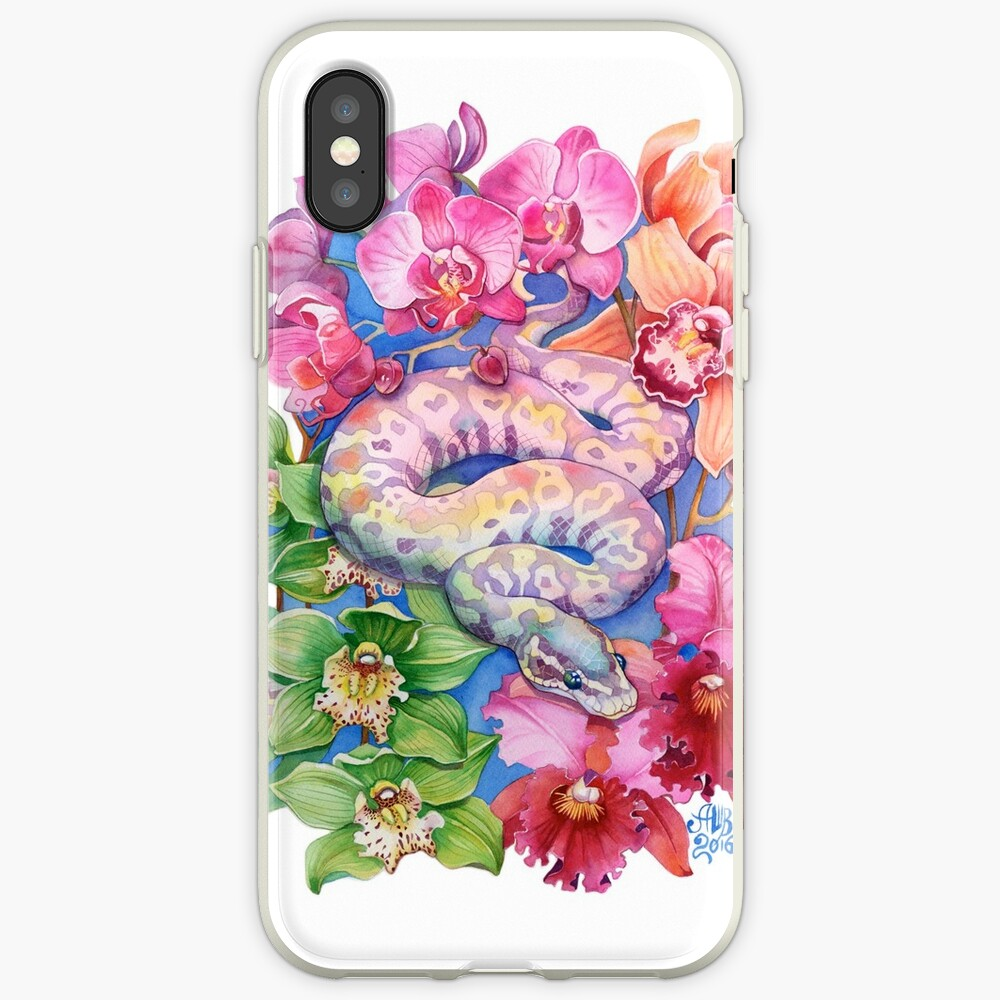 """""""Year of the Snake"""" - Chinese Zodiac Watercolour  iPhone Case & Cover"""