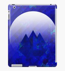 Three Cobalt Peaks - Maps & Apps Series iPad Case/Skin
