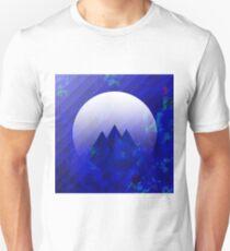 Three Cobalt Peaks - Maps & Apps Series Unisex T-Shirt