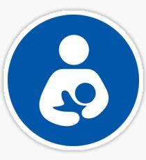 Breastfeeding Welcome Here Sticker