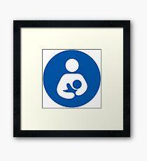 Breastfeeding Welcome Here Framed Print