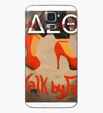 WALK BY FAITH - DELTA SIGMA THETA Case/Skin for Samsung Galaxy