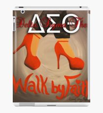 WALK BY FAITH - DELTA SIGMA THETA iPad Case/Skin
