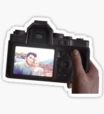 Nate and Elena's camera Sticker