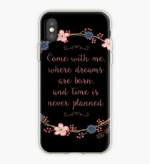 Come With Me, Peter Pan iPhone Case