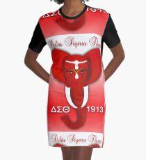 Delta Sigma Theta Graphic T-Shirt Dress