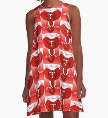 Delta Sigma Theta A-Line Dress