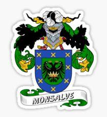 Monsalve Sticker