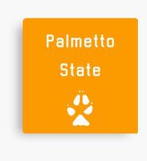 Palmetto State Foxes Canvas Print