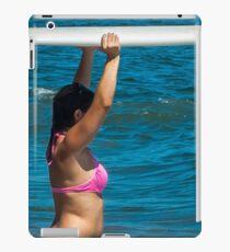 Hot Pink Adventure Time iPad Case/Skin