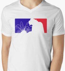 Welder league Men's V-Neck T-Shirt