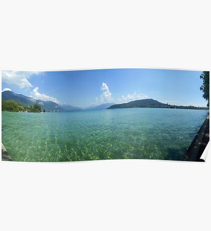 Lake Annecy from the West Side Poster