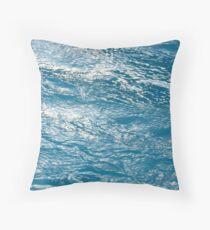 Water Rush Throw Pillow