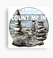 Count Me In, Rebelution Canvas Print