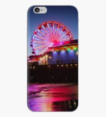 Santa Monica ferris wheel iPhone Case
