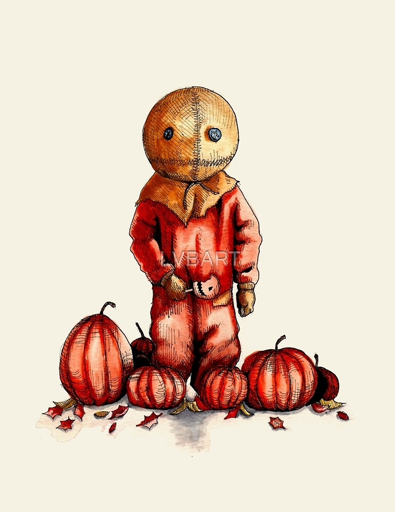 Trick R Treat Sam by LVBART