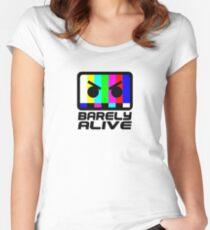 Barely Alive Women's Fitted Scoop T-Shirt