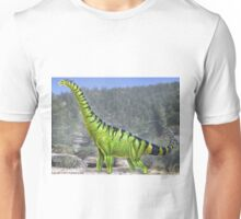Brachiosaurus Reconstruction Unisex T-Shirt