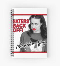 Miranda Sings Haters Back Off Spiral Notebook
