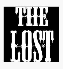 The Lost (Motorcycle Gang Inspired Design) Photographic Print