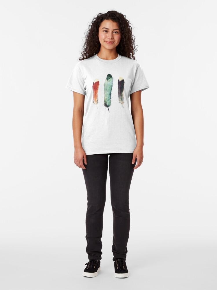 Alternate view of Feathers Classic T-Shirt