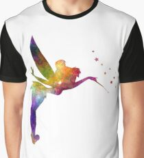 Tinkerbell in watercolor Graphic T-Shirt
