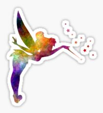 Tinkerbell in watercolor Sticker