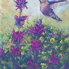 Hummingbird (pastel) by Niki Hilsabeck