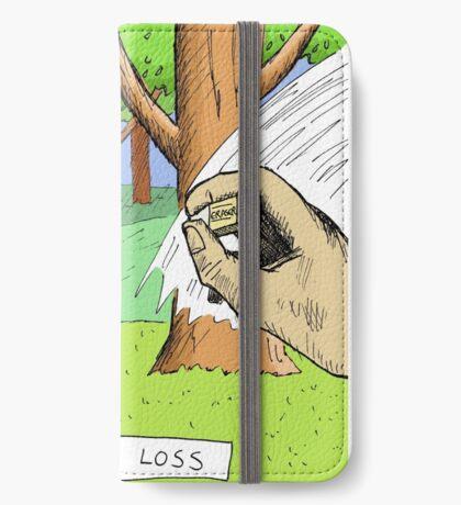 Koala Says No to Habitat Loss iPhone Wallet
