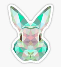 crystal rabbit Sticker