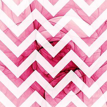 Pink Chevron by blikk