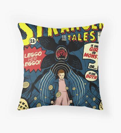Stranger Tales Throw Pillow